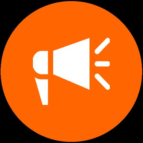 News speaker icon