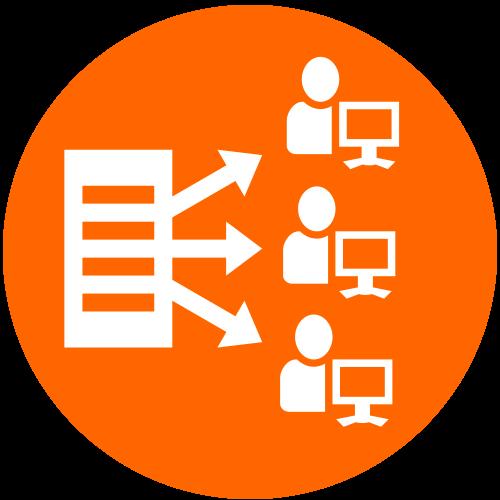SAS Software as a Service icon