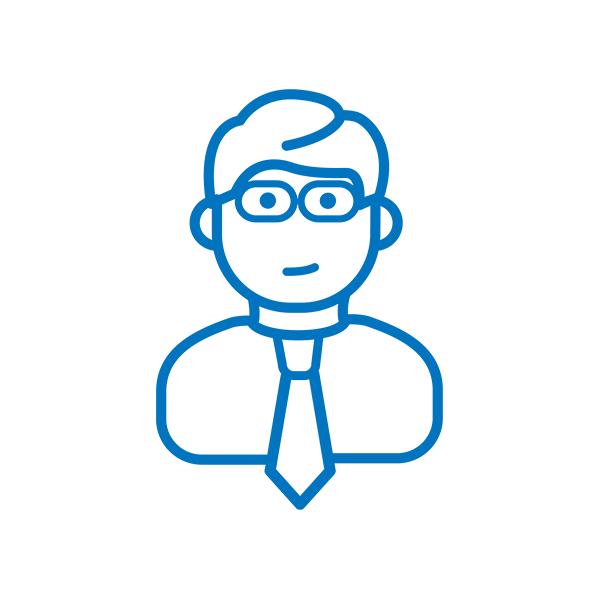 Icon male business person 3