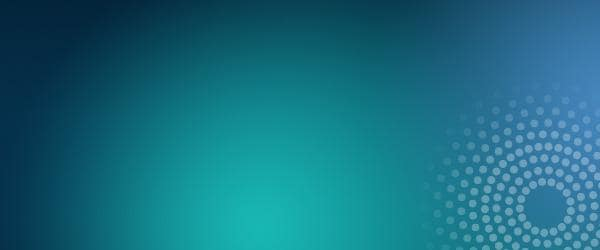 Abstract colored background in teal and blue with radiance graphic