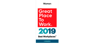 2019 Great Place to Work Women Canada