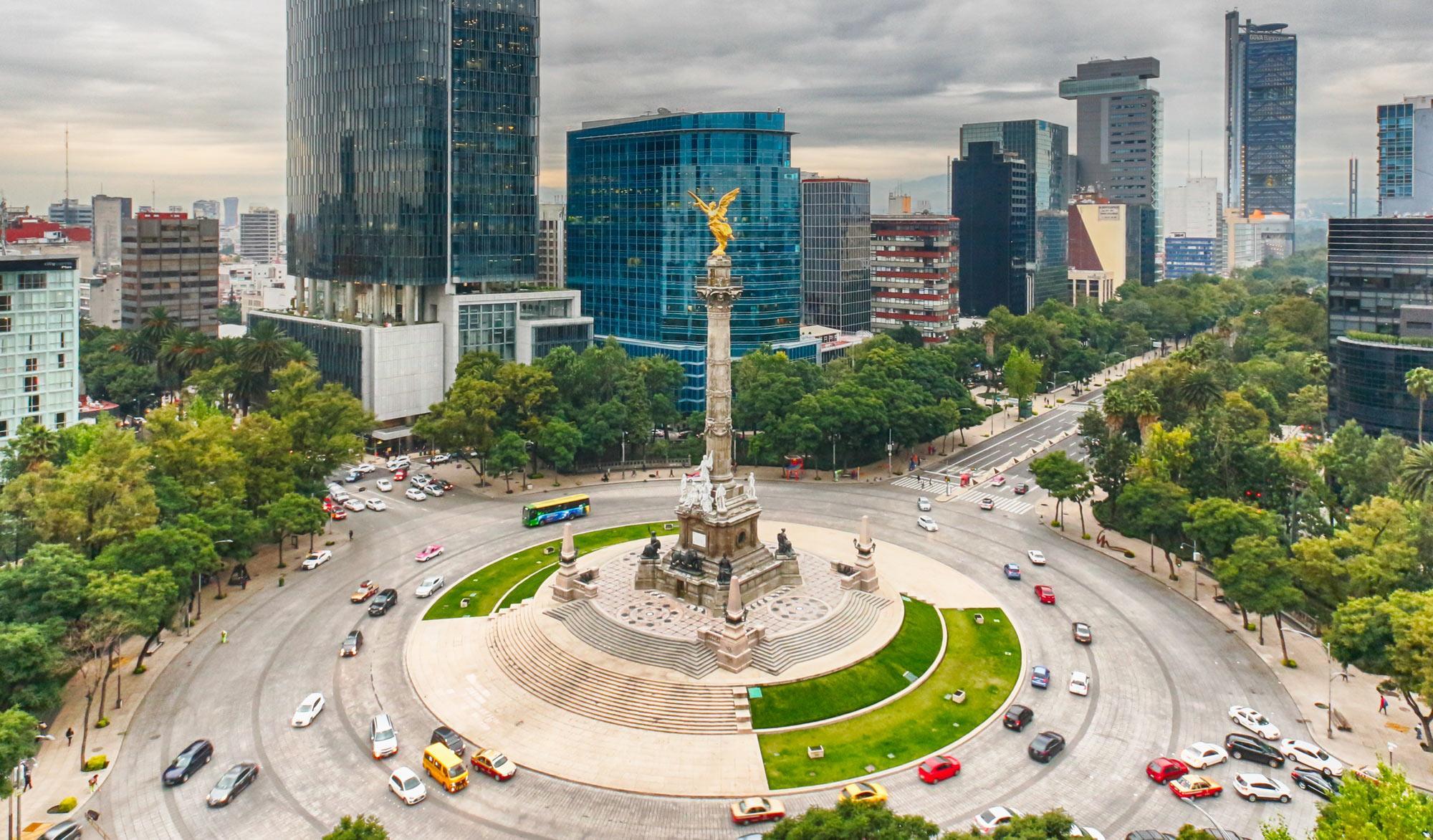 Mexico City, Angel de la Indepencia