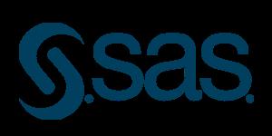 Midnight blue SAS logo