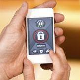 Home security through the internet of things