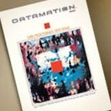 Cover of Datamation magazine