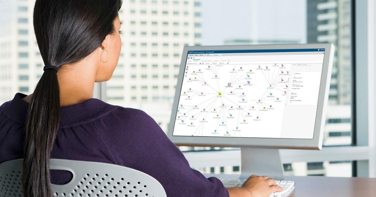 SAS Visual Investigator on desktop