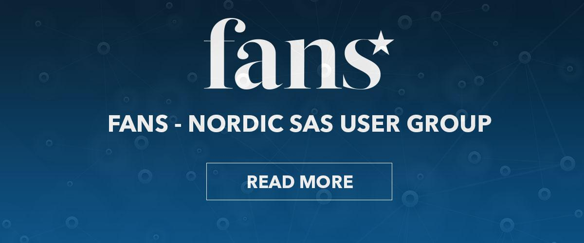 FANS - Nordic SAS User Group