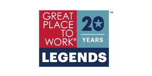Great Places to Work - Legends - 20 years logo