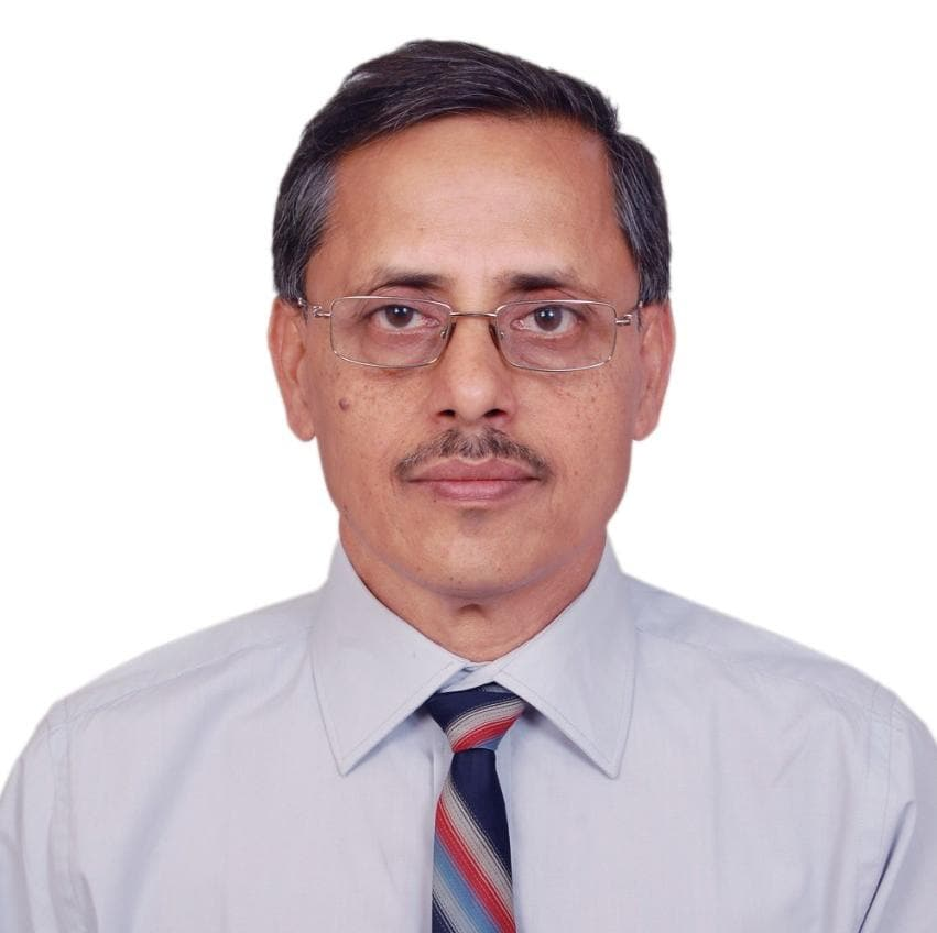 Portrait of Bank of Baroda Executive Bhaskar Sharma