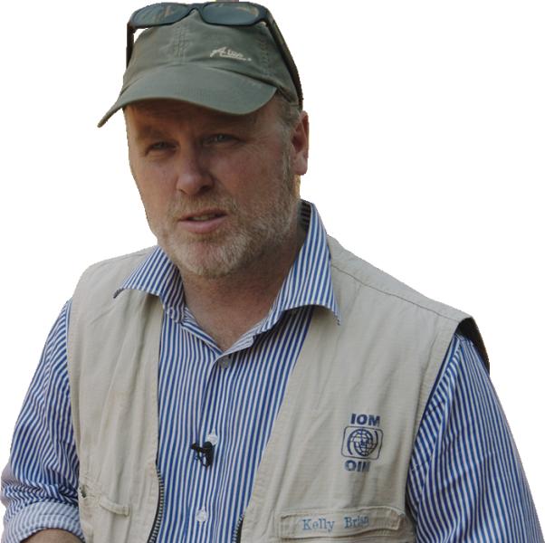 Brian Kelly, IOM Regional Emergency and Post-Crisis Advisor