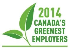 Canada's Greenest Employers - 2014
