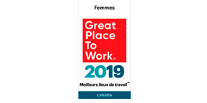 2019 Great Place to Work Femmes Canada