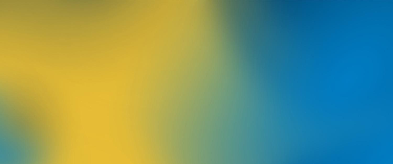 Yellow blue gradient
