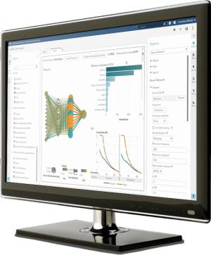 SAS® Visual Data Mining and Machine Learning sur un écran