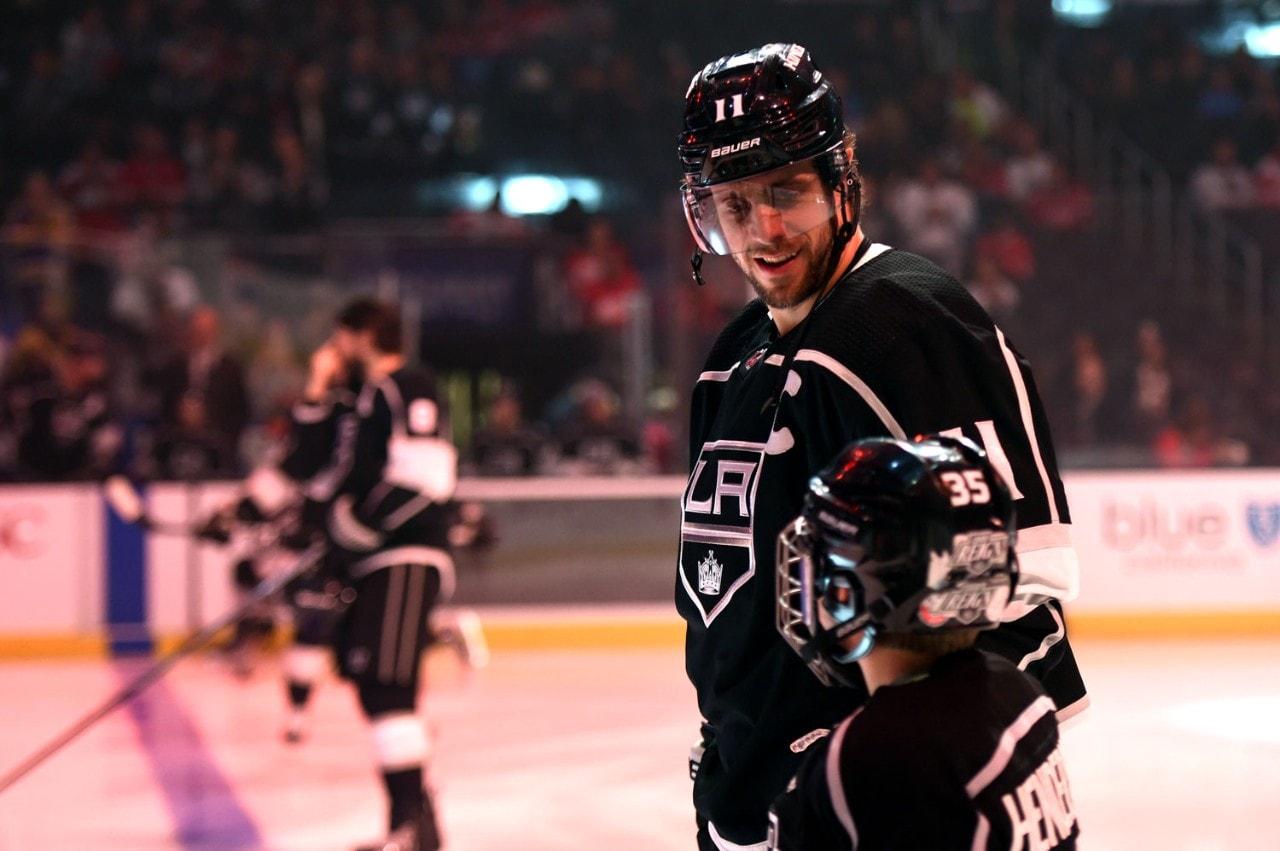 hockey player close up on ice