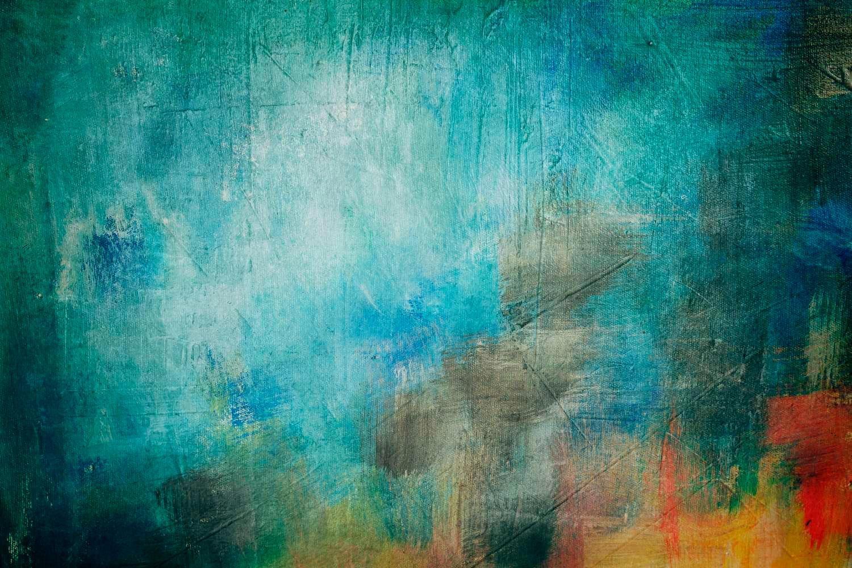 fond de toile abstraite - fond de peinture abstraite ou texture