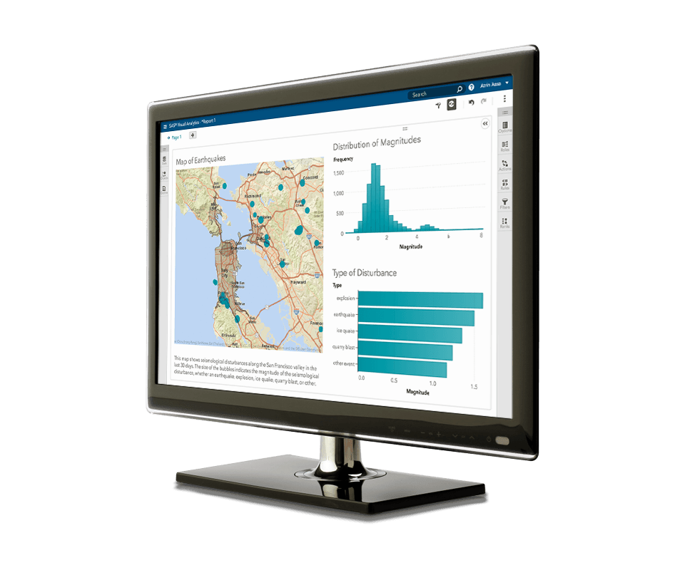 SAS® Visual Analytics - location and exploration