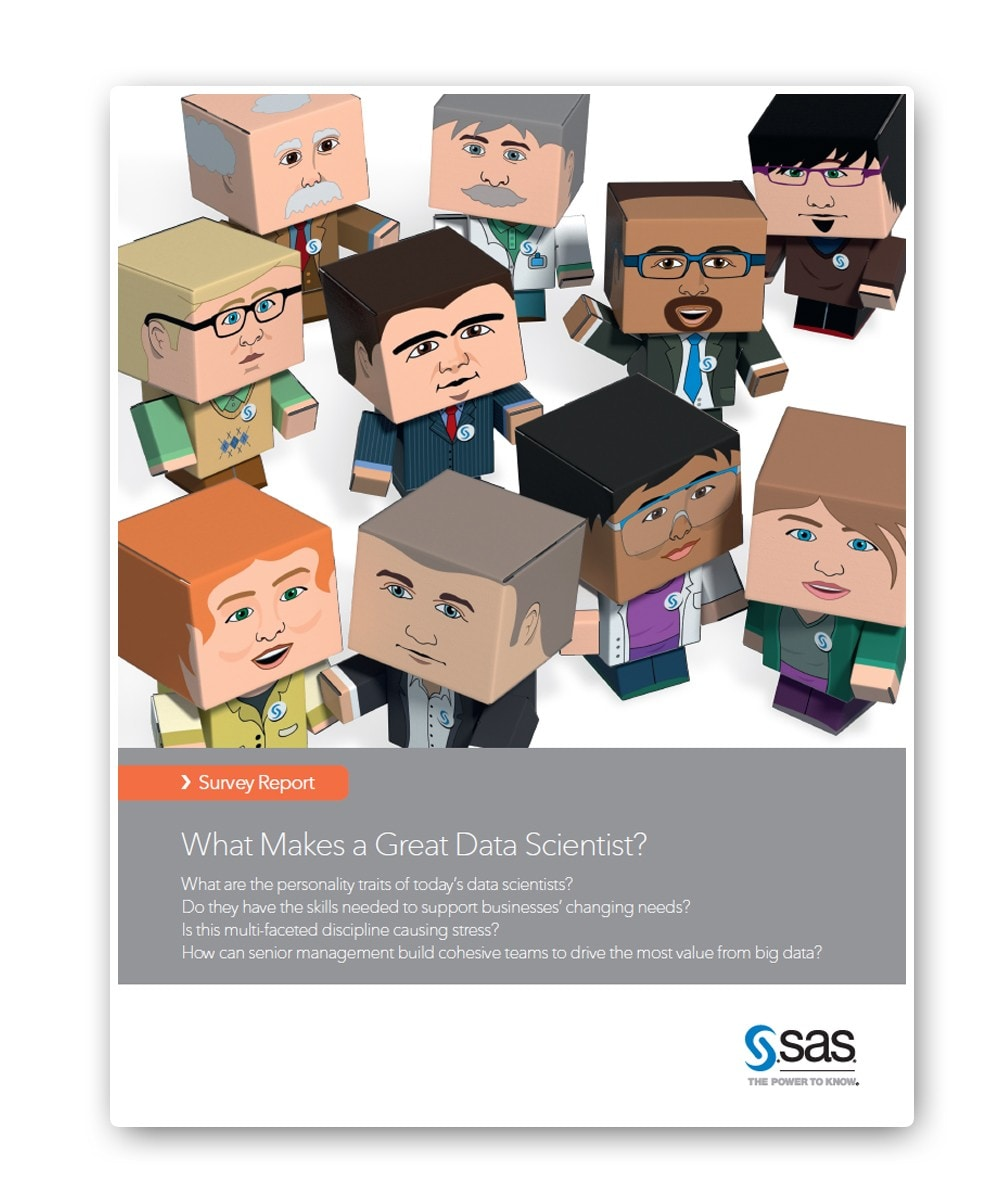 Etude SAS - Les 10 profils types du Data Scientist