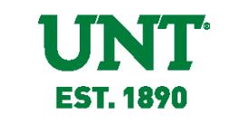 Logo de la University of North Texas