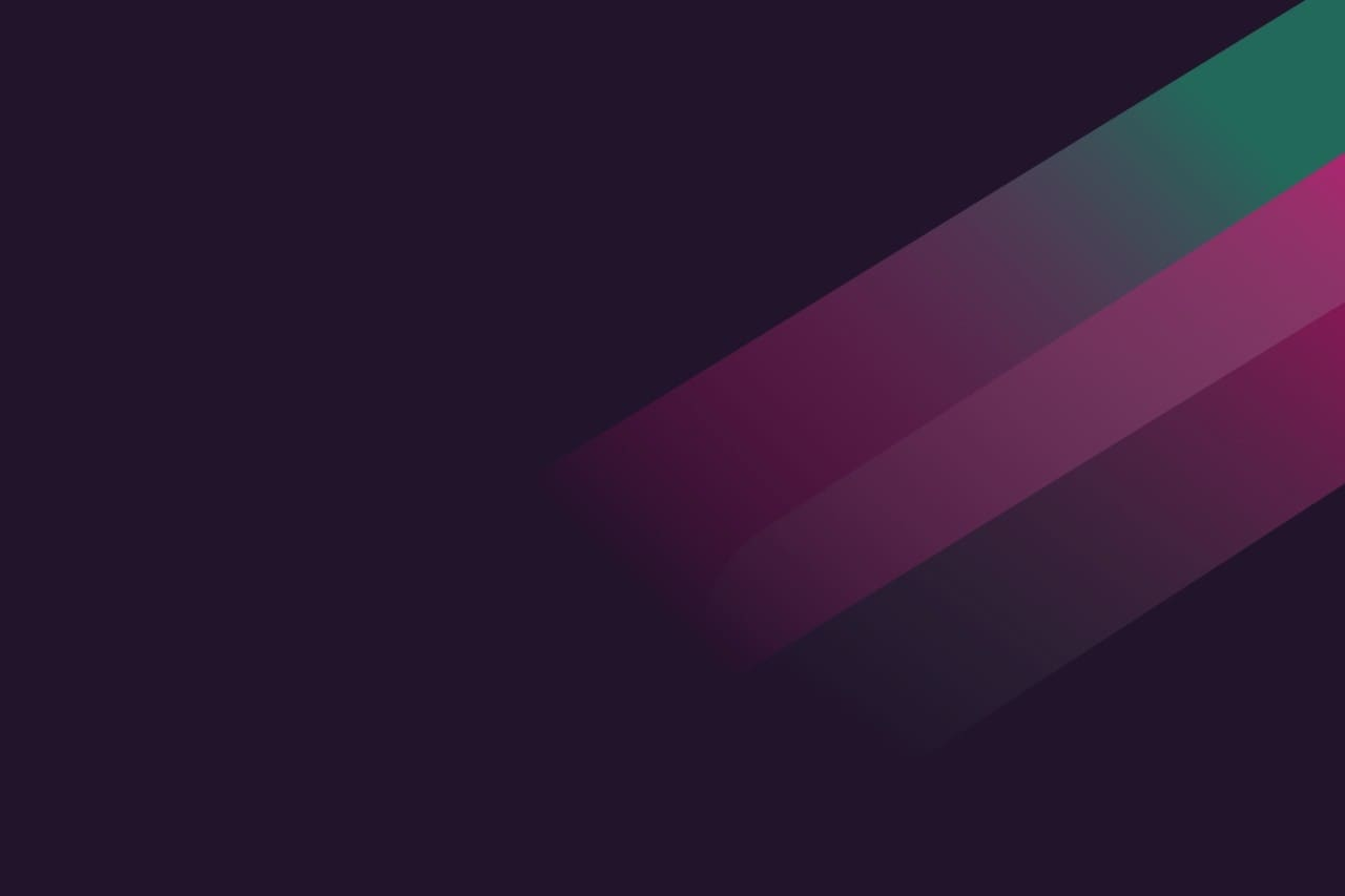Violet background with crossing stripes green and light purple right to left