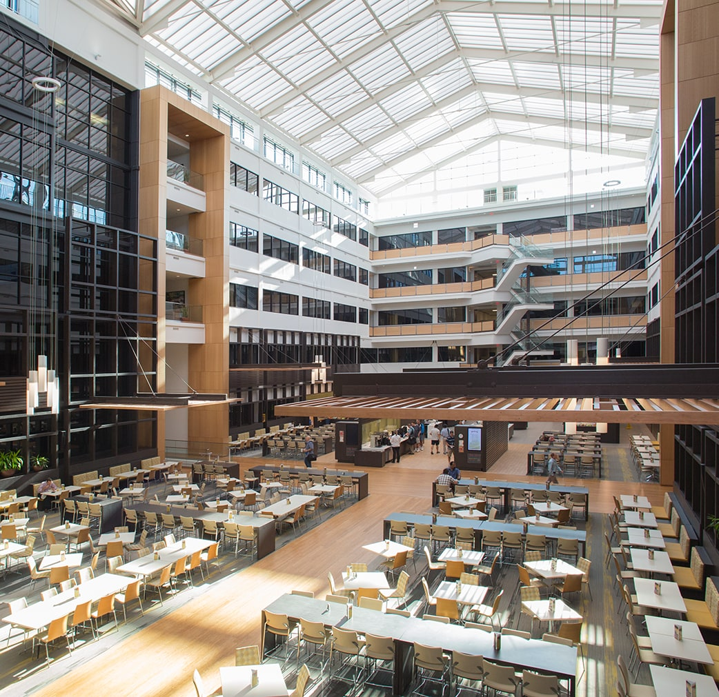 SAS Campus building R interior