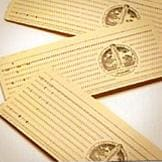 Old punch cards for data storage
