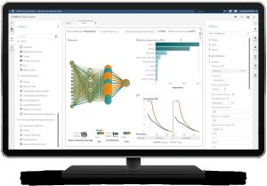 Az SAS® VDMML programja a képernyőn