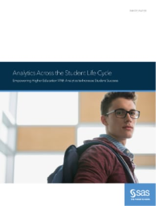 Analytics Across the Student Life Cycle