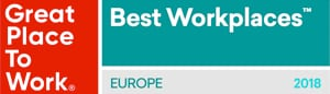 Great Place to Work 2018 Europe - Best Workplaces