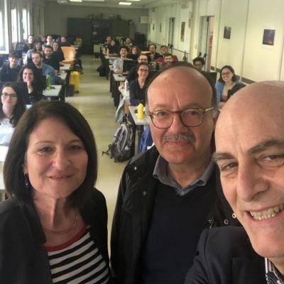 Cinzia Gianfiori, SAS insieme a Agostino Di Ciaccio e Maurizio Vichi de La Sapienza