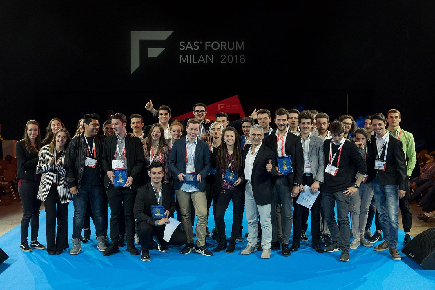 Forma Mentis InnovACTION Award a SAS Forum Milan 2018
