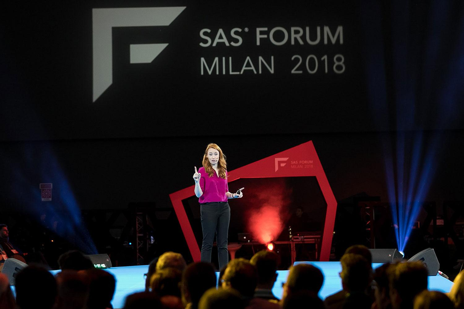 Hannah Fry at SAS Forum Milan 2018