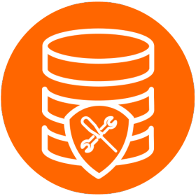 Data management icon