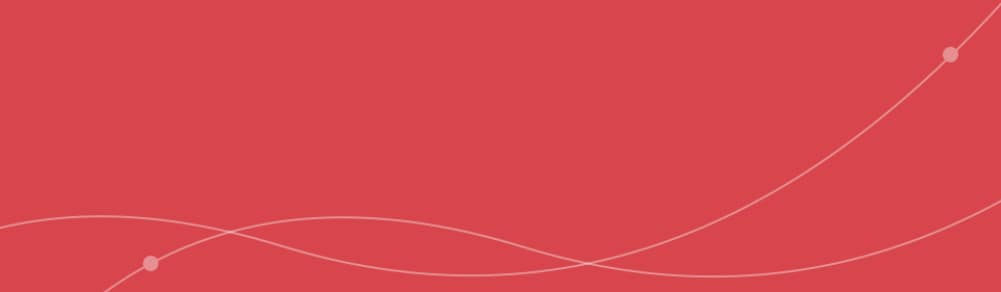 Red background with lines crossing it