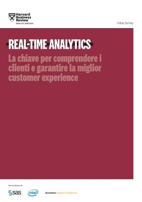 Survey HBR in Italiano su real-time customer intelligence
