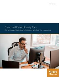 Detect and Prevent Identity Theft