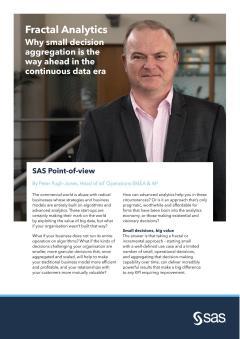 SAS Introduces POV by Peter Pugh-Jones