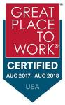 Great Places to Work USA 2017 award