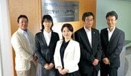 写真 : 日立キャピタルのプロジェクトメンバー