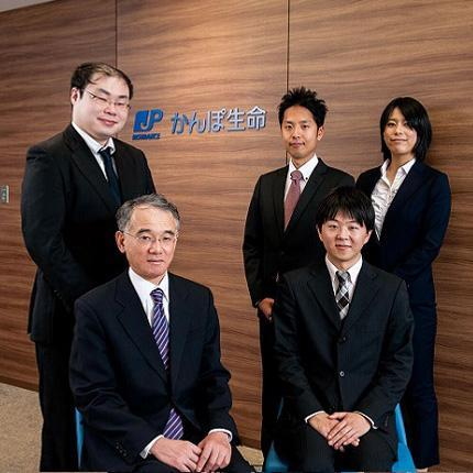 SAS deployment team in Japan Post Insurance