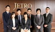 写真 : ジェトロのプロジェクト『チーム顧客』メンバー