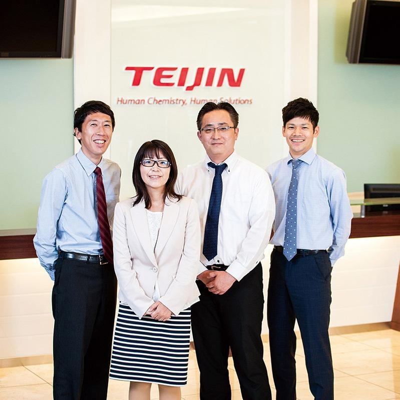 group photo teijin phama