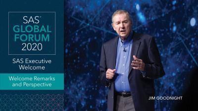 SAS Global Forum:開会の挨拶と展望