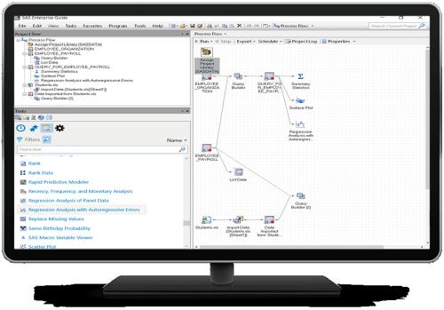 SAS® Enterprise Guide - project detail