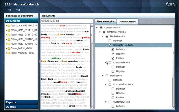 Social Media Analytics Screen Shot