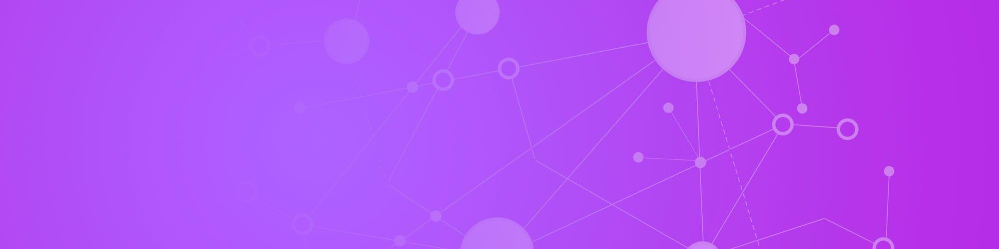 Abstract purple art