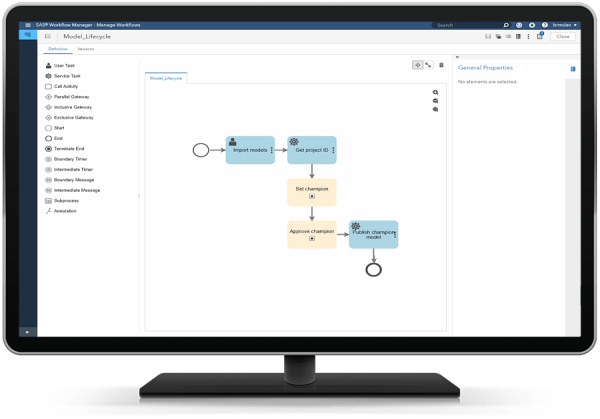 SAS® Model Manager - analytical modeling processes