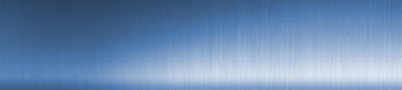 Blue header background