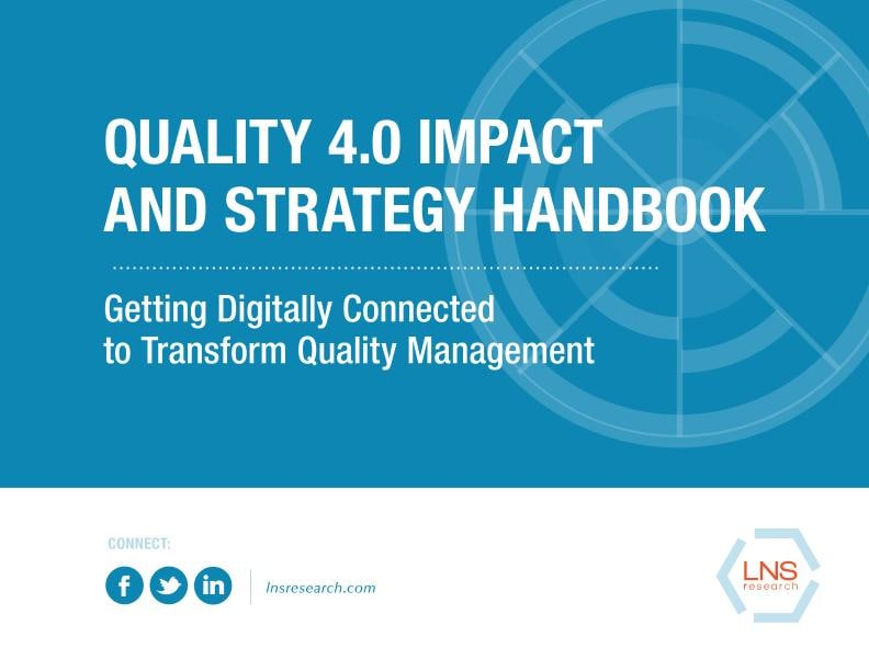 Quality 4.0 Impact and Strategy Handbook