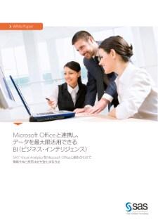 Microsoft Officeと連携し、データを最大限活用できるBI(ビジネス・インテリジェンス)